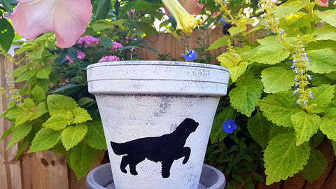 "6"" Pet Silhouette Planter"