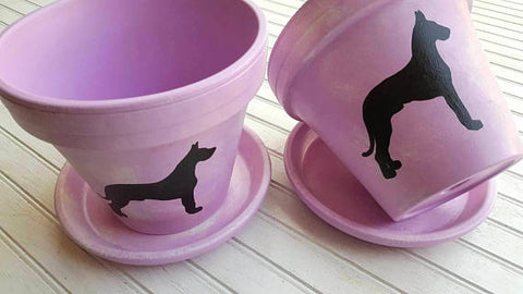 "8"" Pet Silhouette Planter"