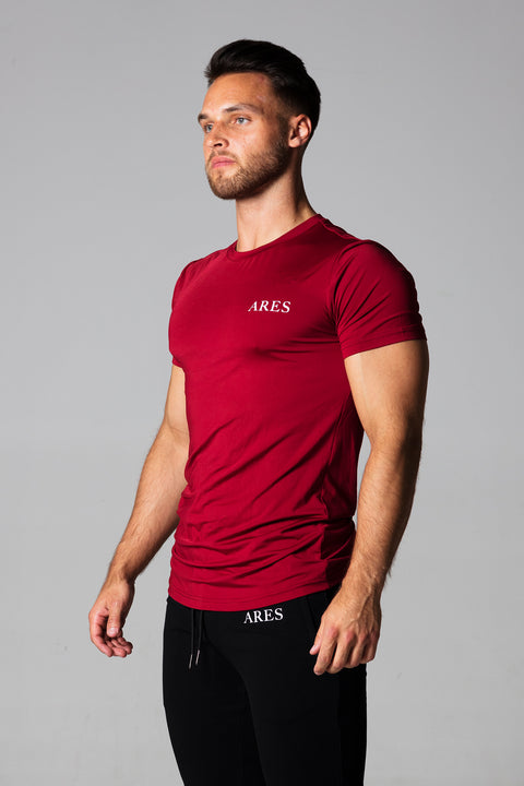 BASIC T-SHIRT | JUPITER RED