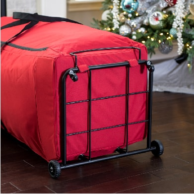 Dolley tree storage bag caster wheels and frame