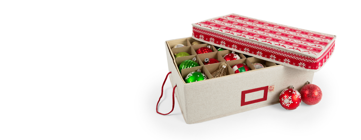 Santa's Bags Holiday Decoration Storage Solutions