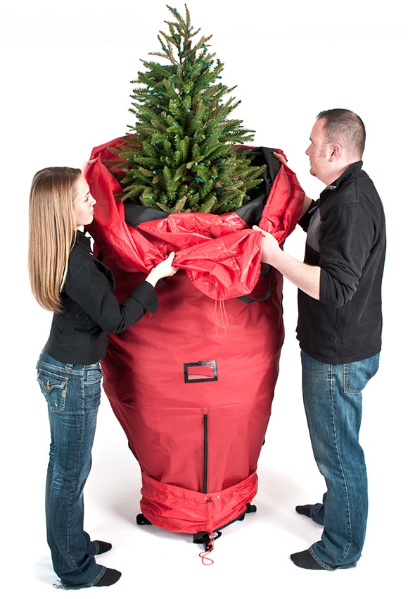 Christmas Tree Bags.Upright Christmas Tree Storage Bag 9ft Trees
