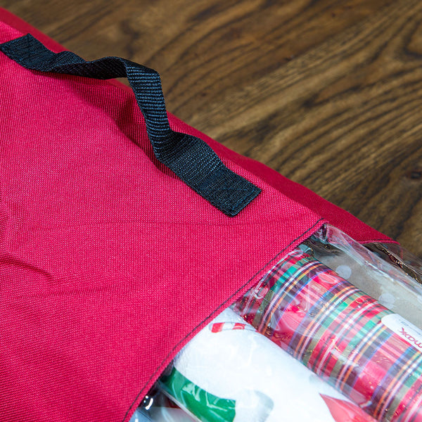 Wrapping Paper Storage Bag | Santa's Bags