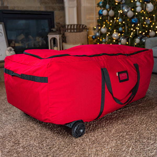 EZ Roller Tree Storage Bag - [9ft. Trees] | Santa's Bags