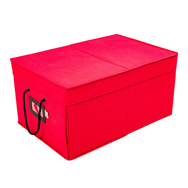 Three Drawer Ornament Box [72 Ornaments] | Santa's Bags