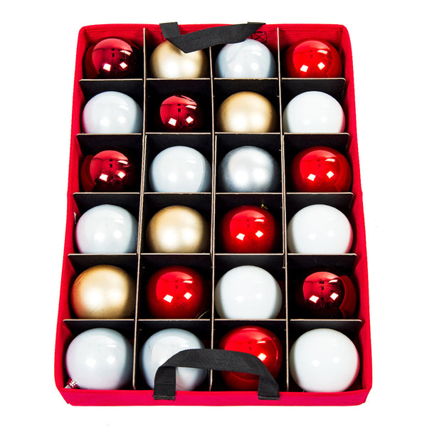 Two Tray Ornament Box [48 Ornaments] | Santa's Bags