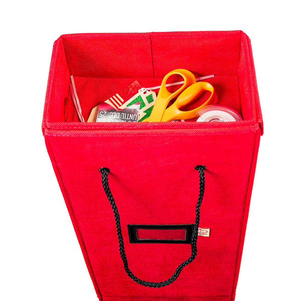 Wrapping Paper Storage Box | Santa's Bags