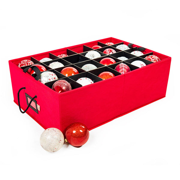 "Two Tray Ornament Box [48 (4"") Ornaments] 