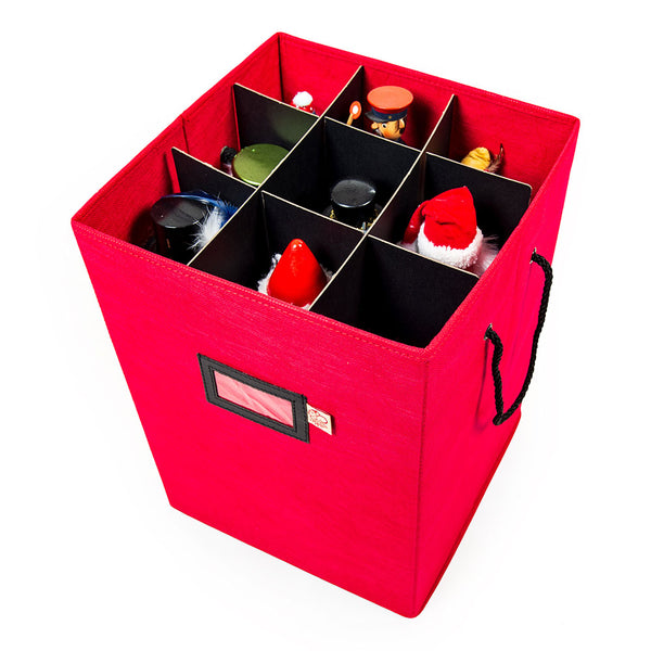 Collectibles Storage Box - [Nutcracker Storage] | Santa's Bags