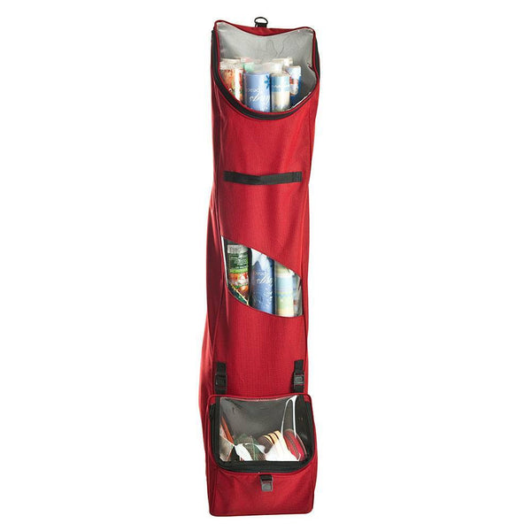 Miscellaneous Storage_Hanging Wrapping Paper Storage  |  Christmas World | Santa's Bags