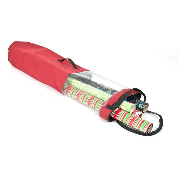 Miscellaneous_Wrapping Paper Storage Tube  |  Christmas World | Santa's Bags