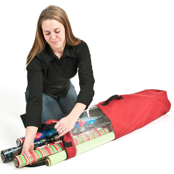 Miscellaneous_Wrapping Paper Storage Tube  |  Christmas World