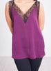 Sophia Lace Cami in Purple