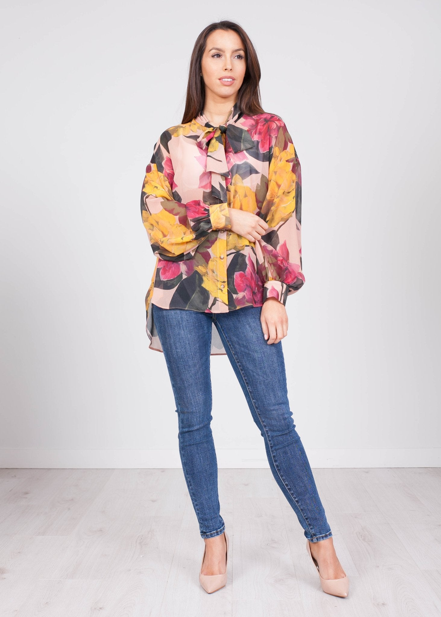 Alana Floral Blouse - The Walk in Wardrobe