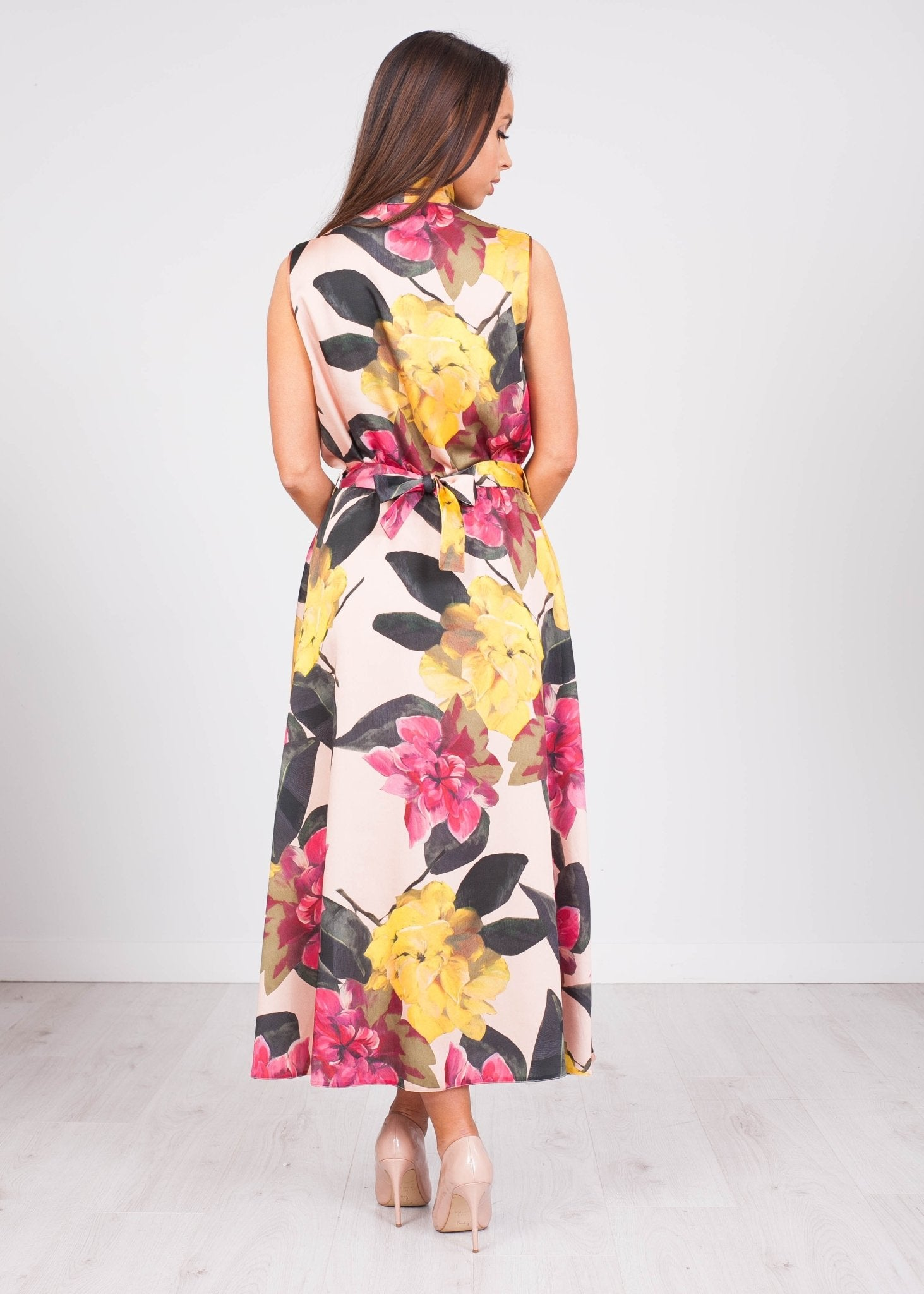 Alana Floral Midi Dress - The Walk in Wardrobe