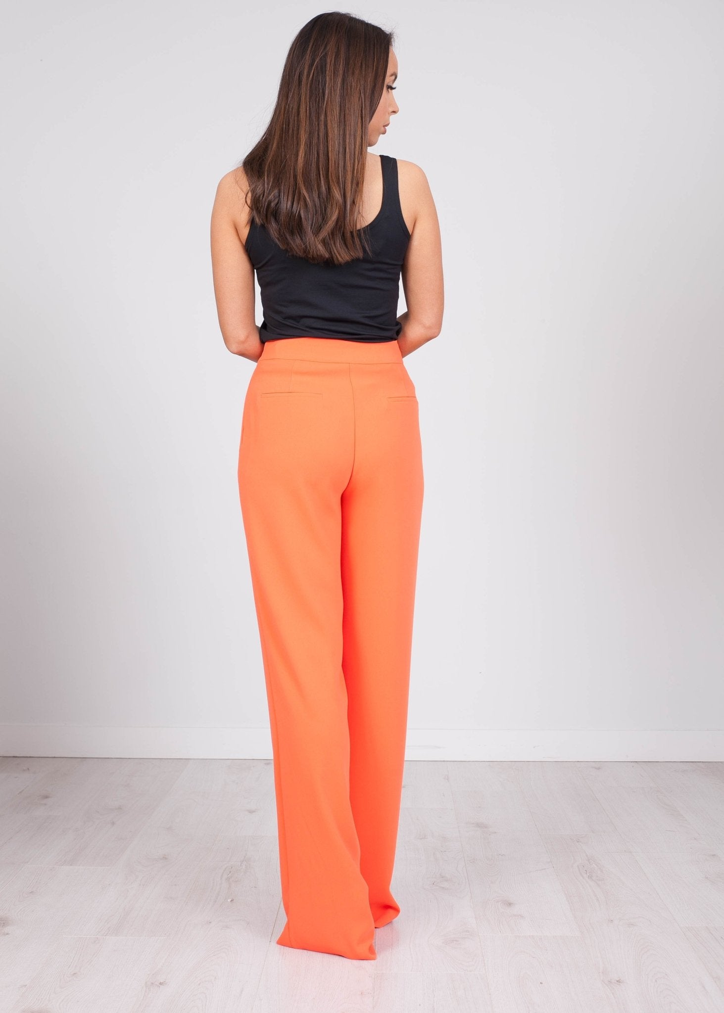 Alana Orange Trousers - The Walk in Wardrobe