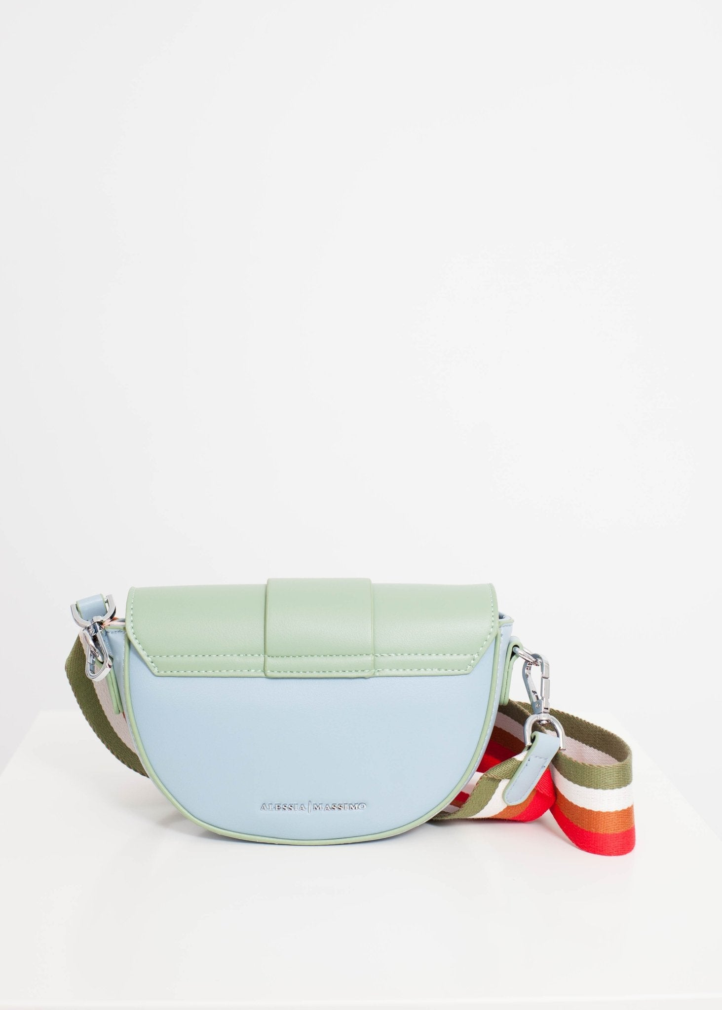 Alex Cross Body Bag In Blue Mix - The Walk in Wardrobe