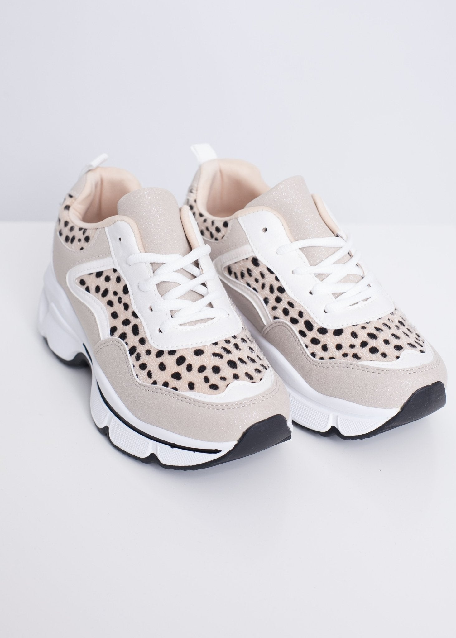Alice Animal Print Chunky Trainers - The Walk in Wardrobe