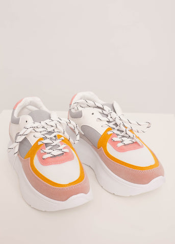 Alice Pastel Chunky Trainers - The Walk in Wardrobe