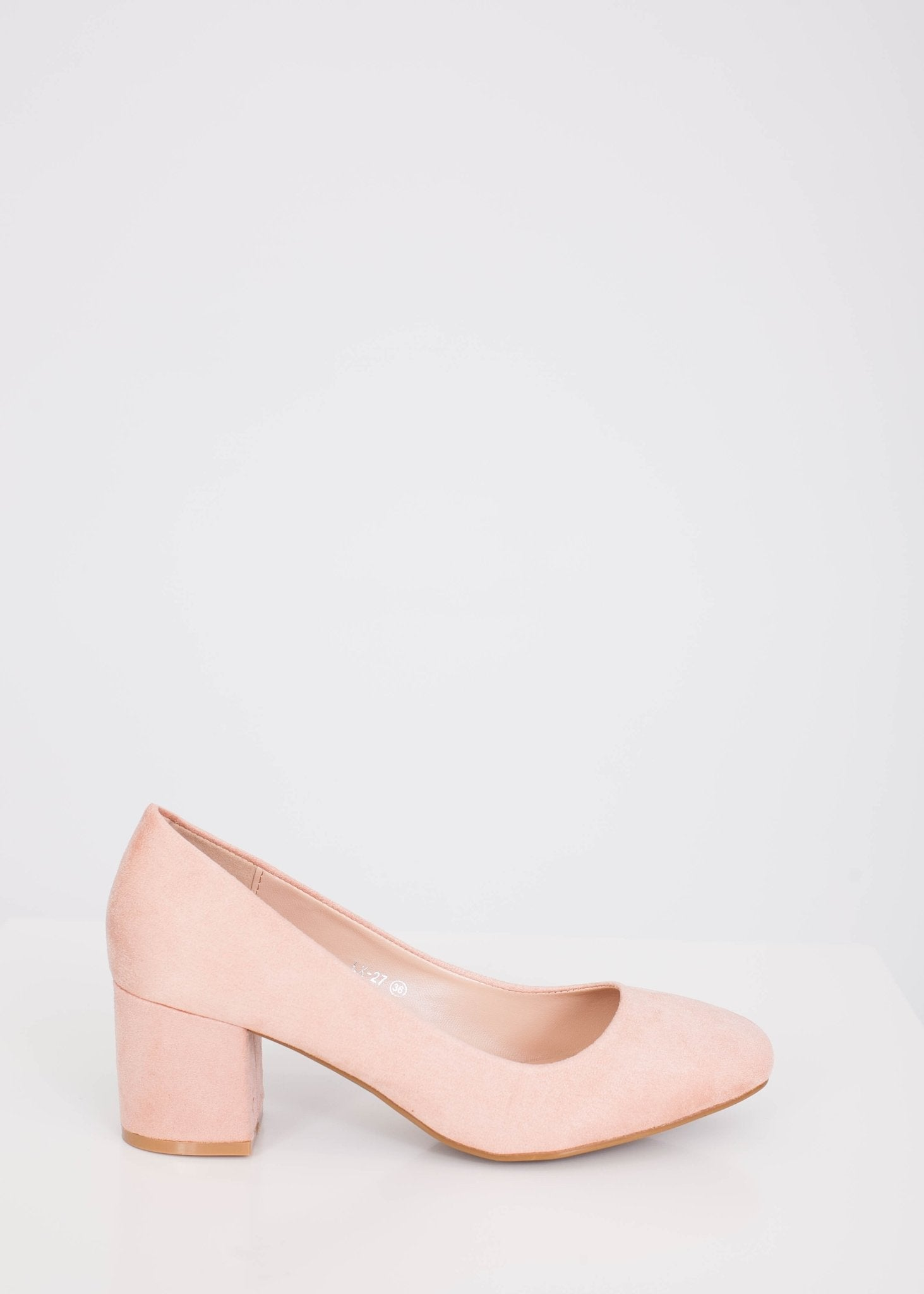Alice Pink Block Heels - The Walk in Wardrobe