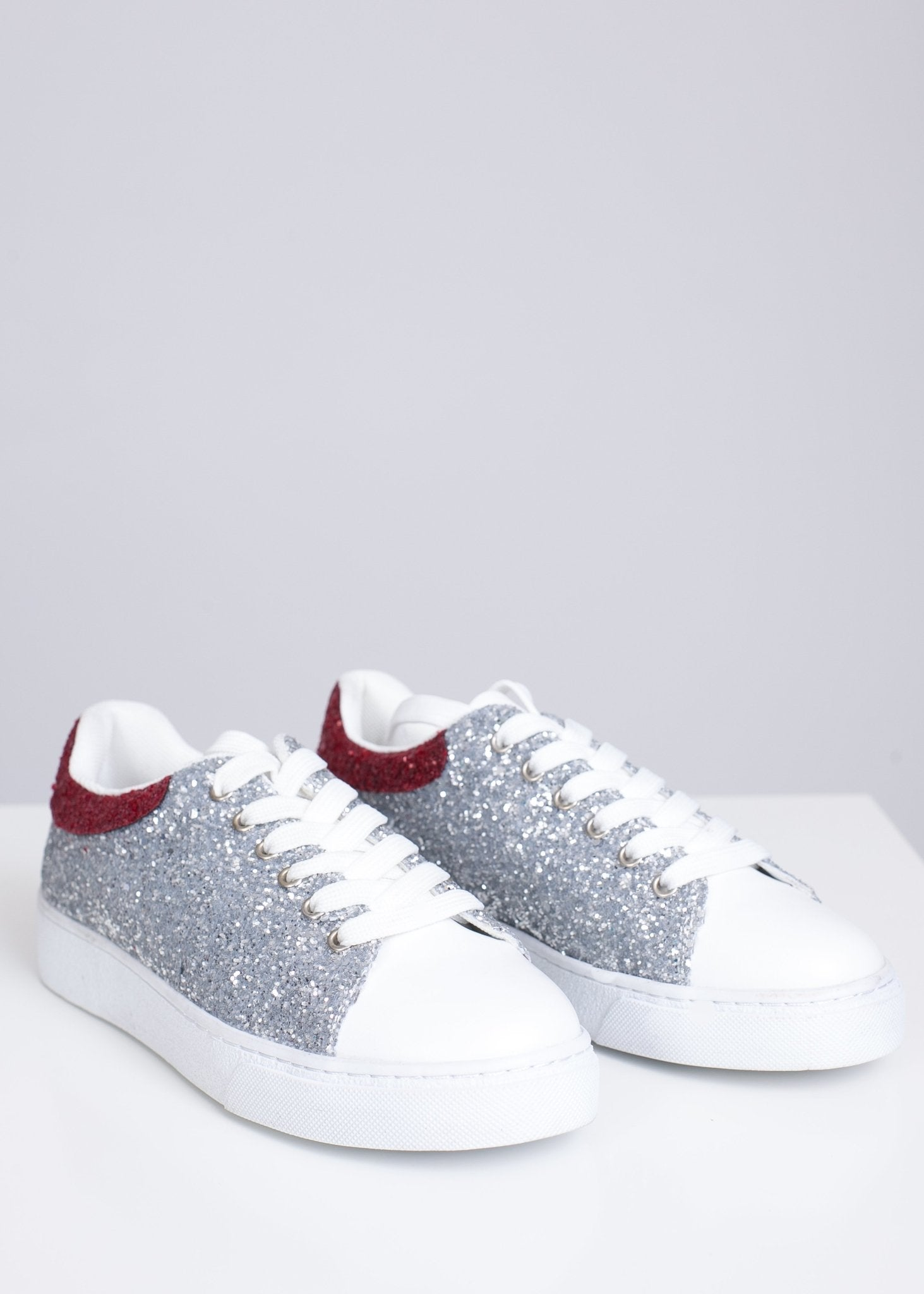 Alice Silver Trainers - The Walk in Wardrobe