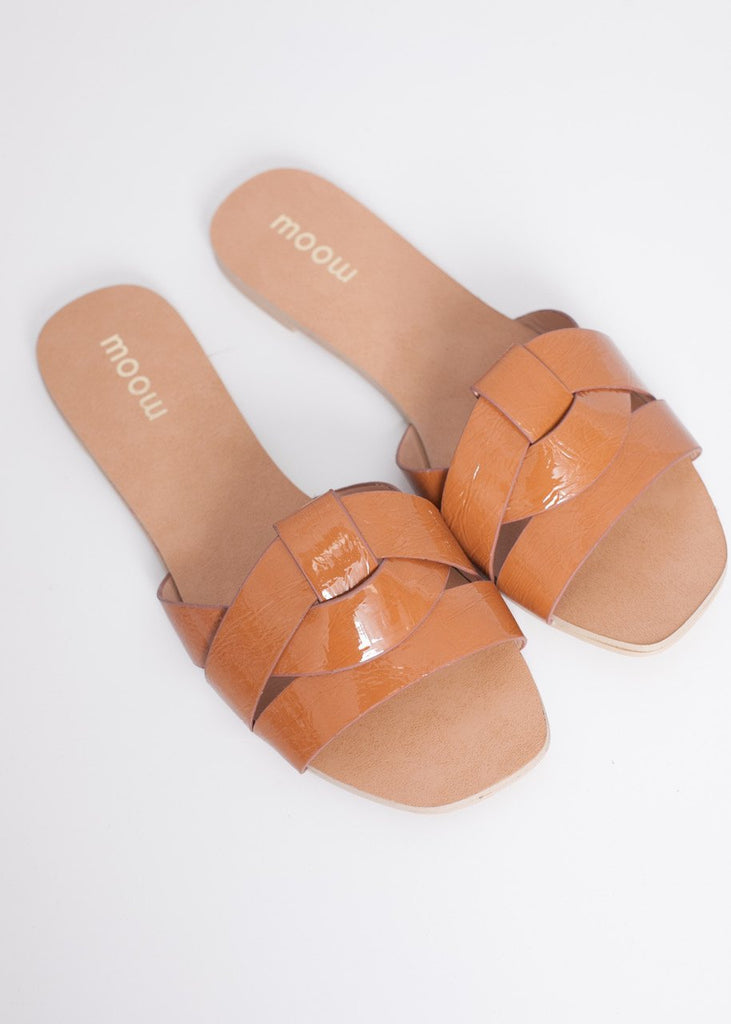 Alice Tan Sliders - The Walk in Wardrobe