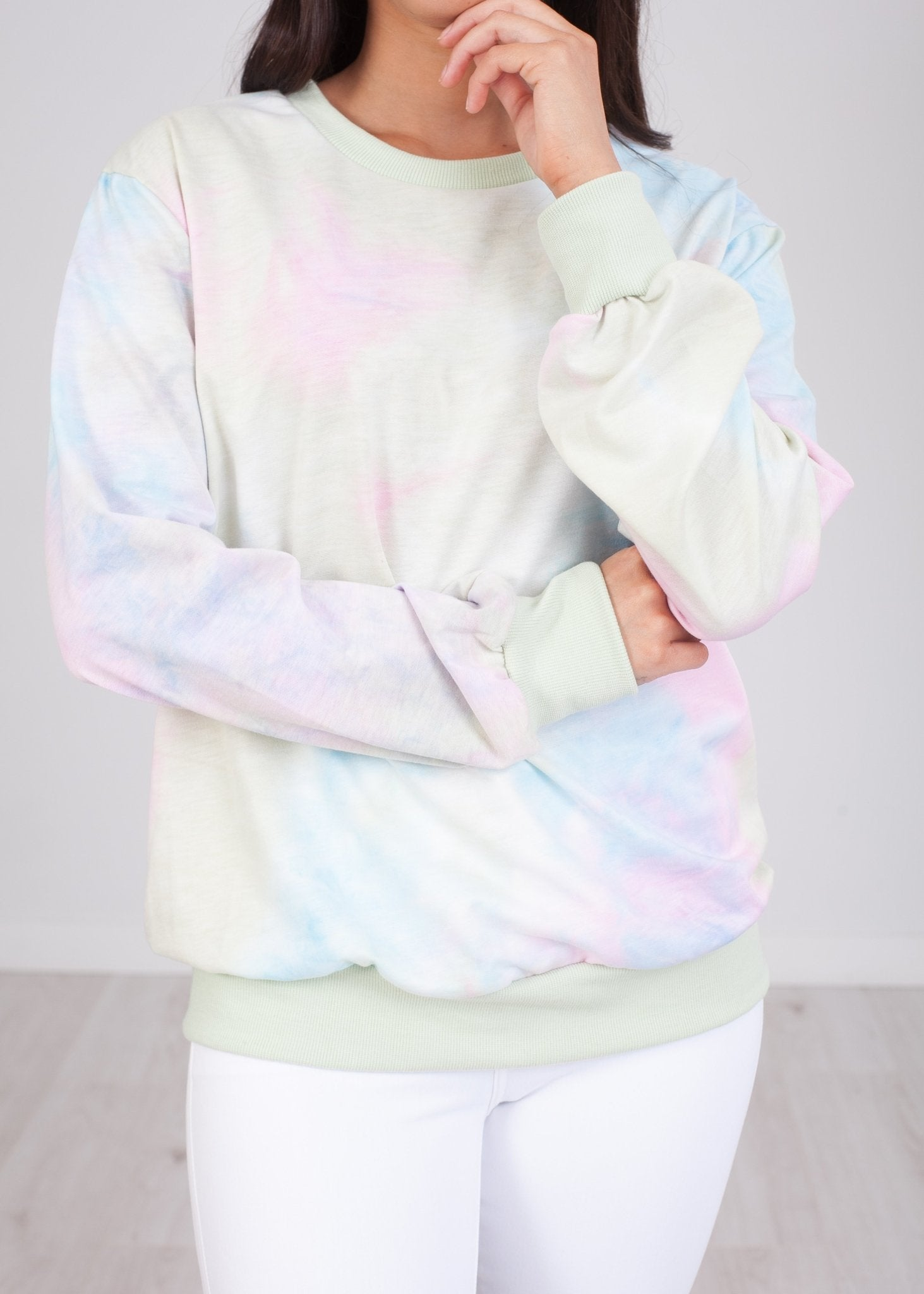 Alice Tie Dye Sweater - The Walk in Wardrobe