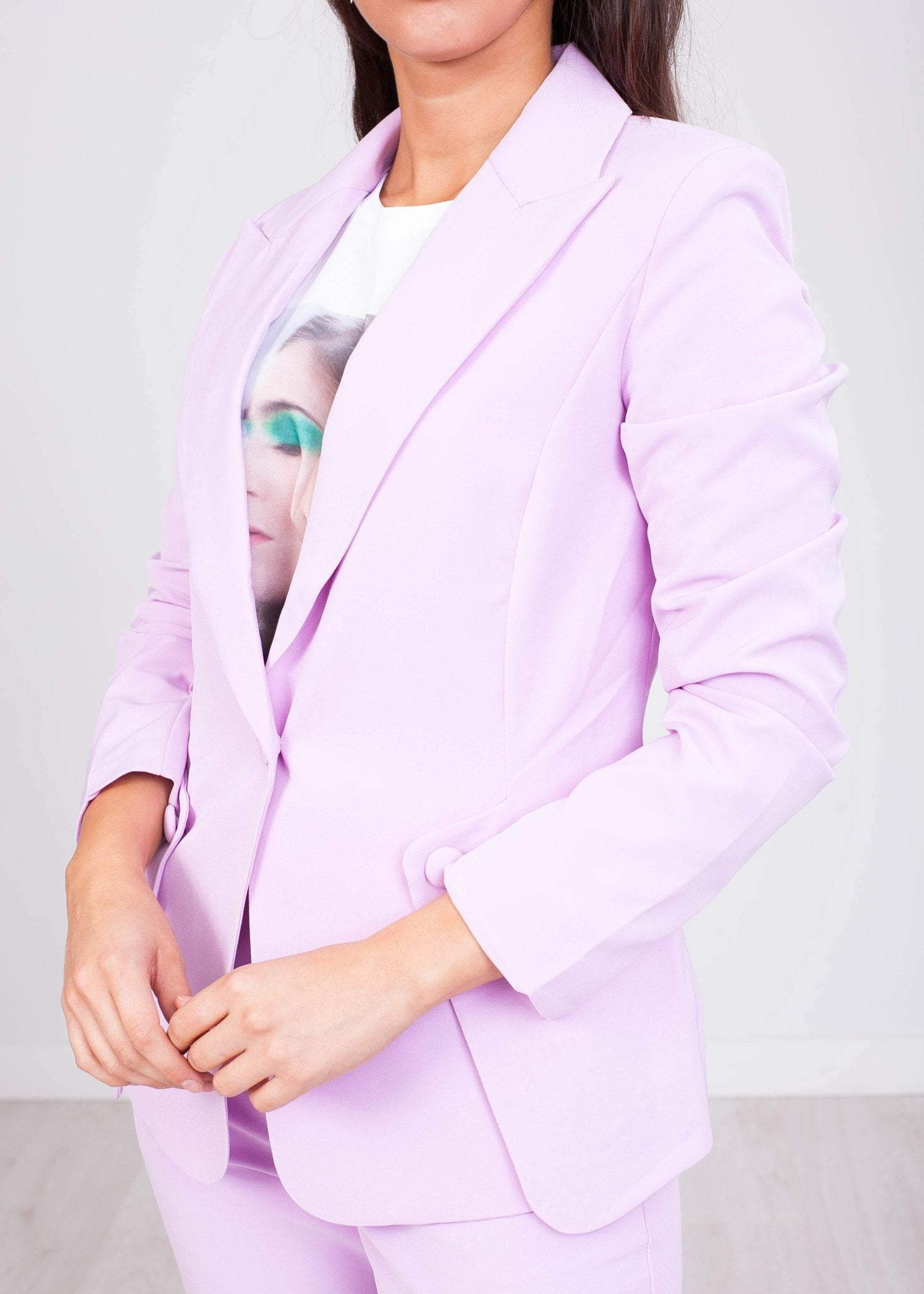 Arabella Lilac Blazer - The Walk in Wardrobe