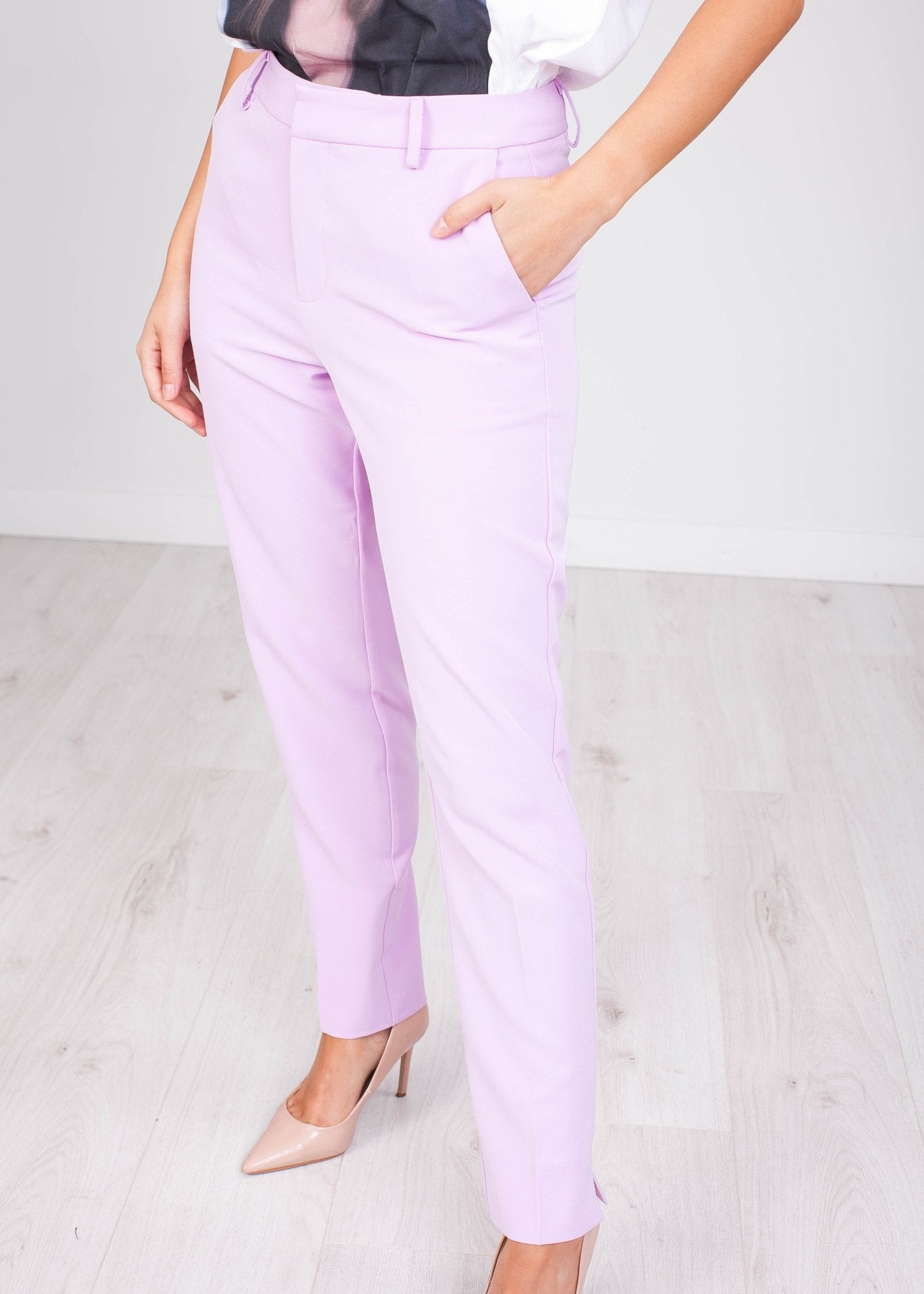 Arabella Lilac Trousers - The Walk in Wardrobe