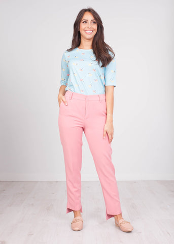 Arabella Pink Trousers - The Walk in Wardrobe