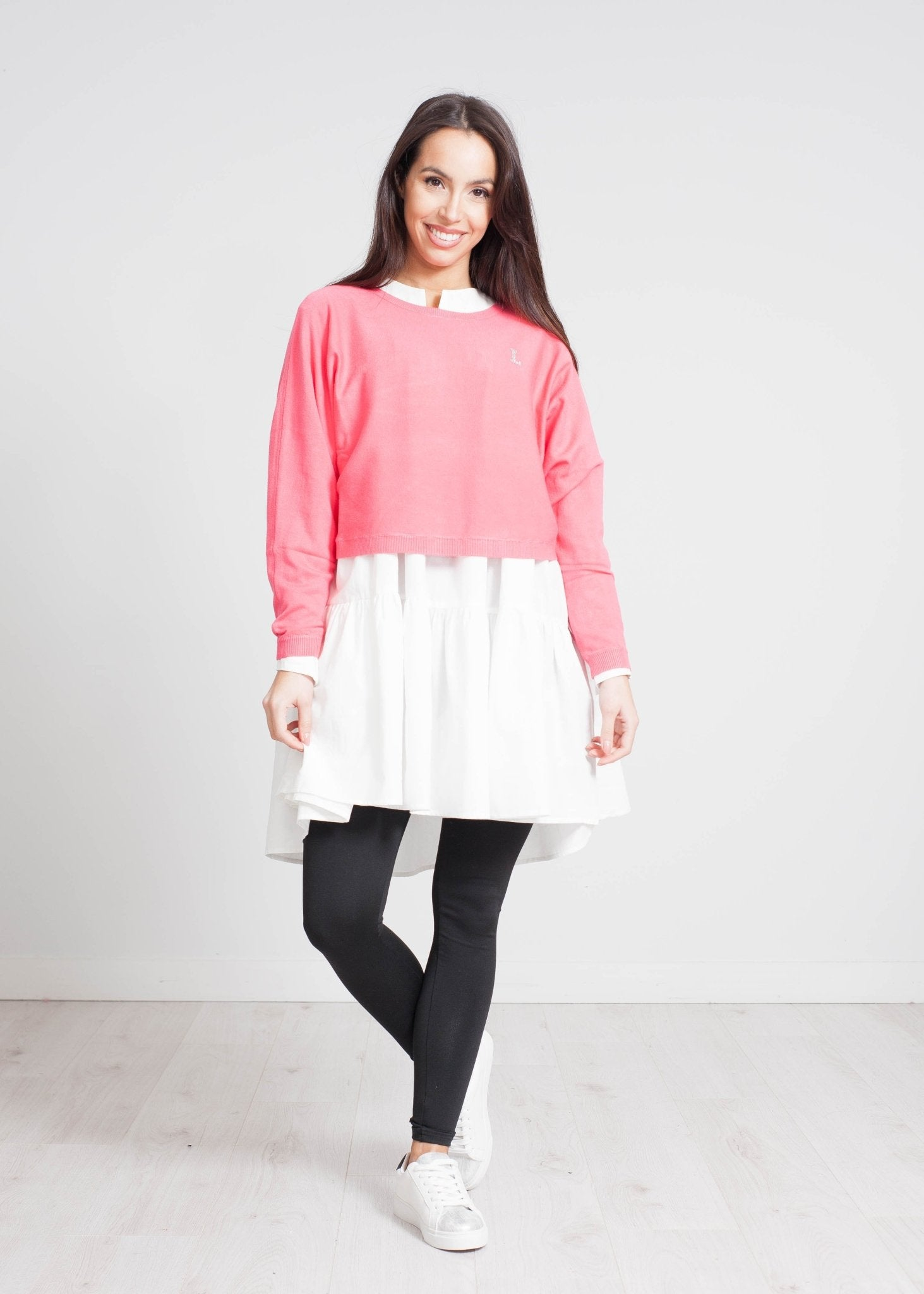 Becca Embellished Knit In Hot Pink - The Walk in Wardrobe