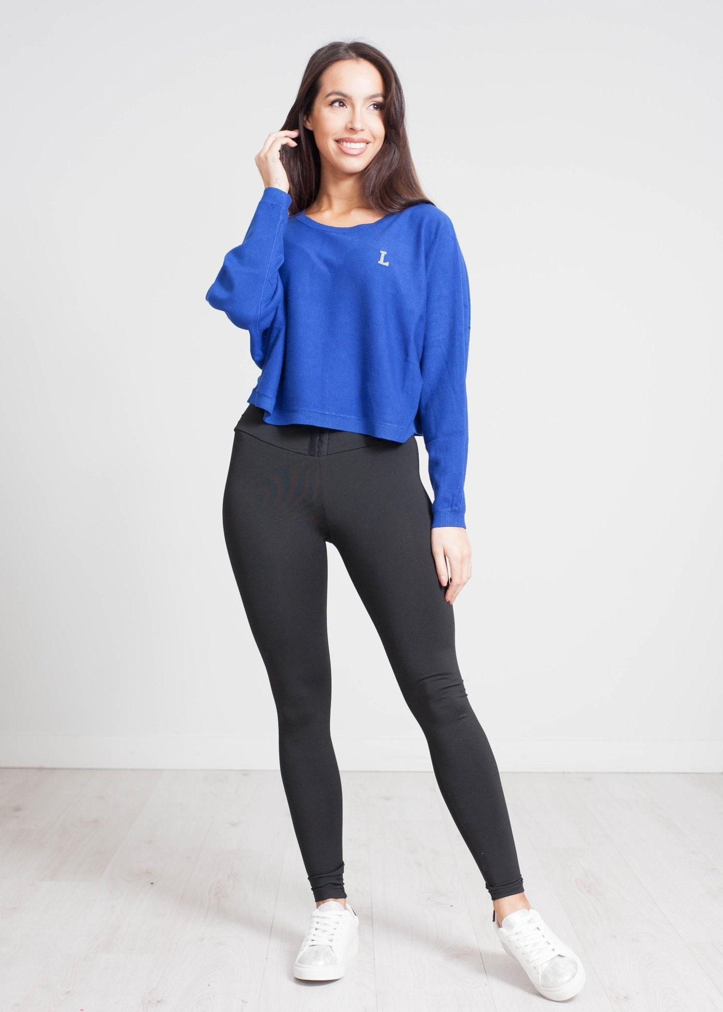 Becca Embellished Knit In Royal Blue - The Walk in Wardrobe