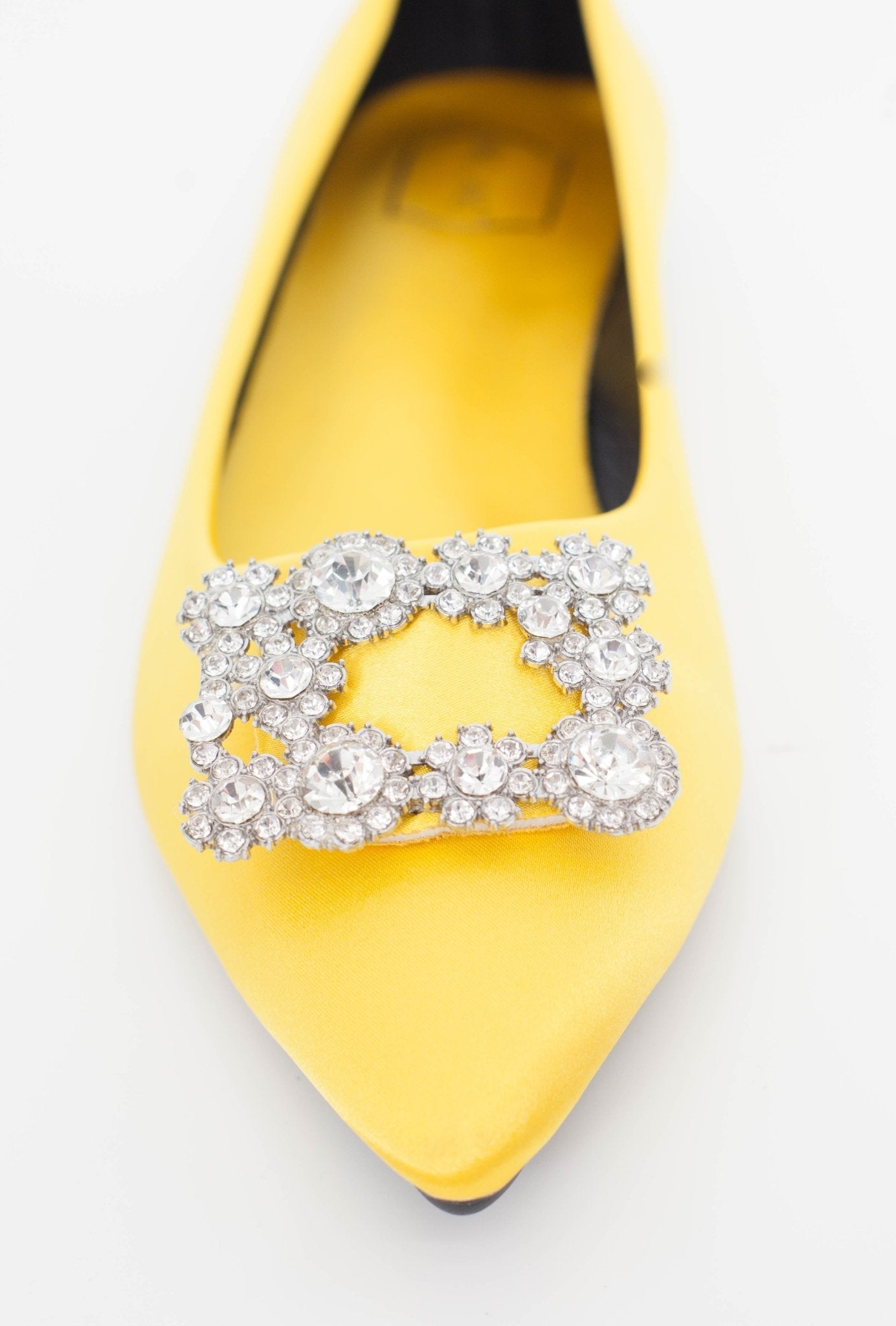 Blair Embellished Flats In Gold - The Walk in Wardrobe