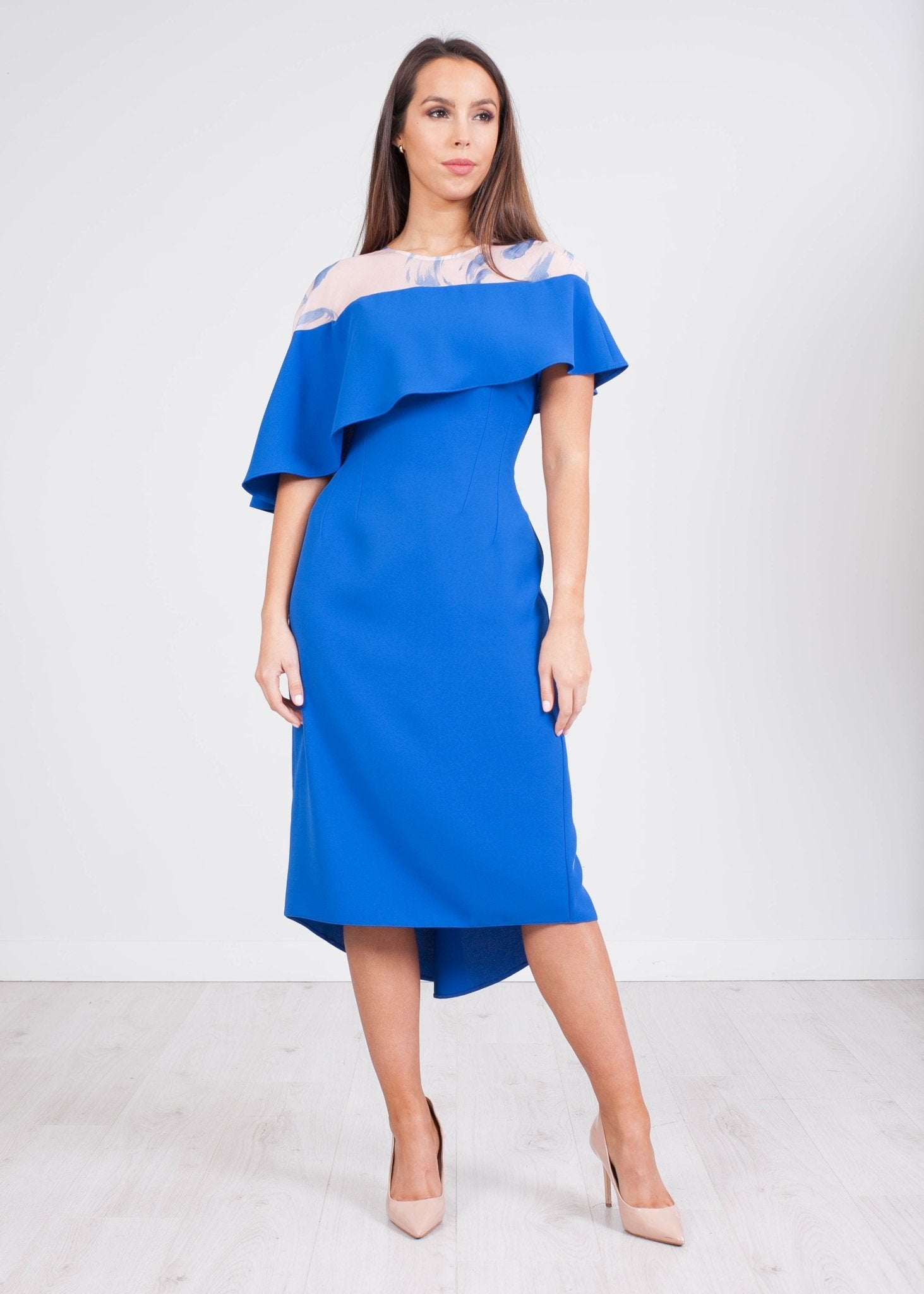 Carla Blue Ivanna Dress - The Walk in Wardrobe