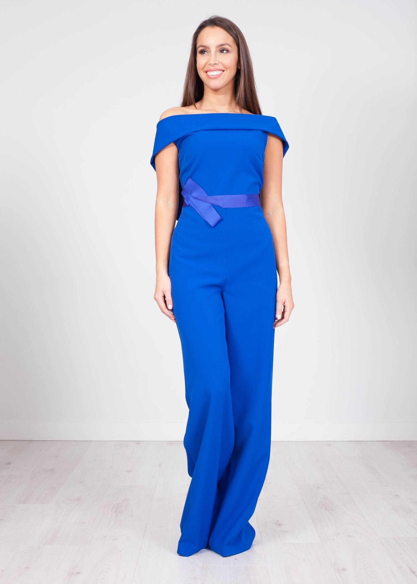 Carla Blue Jumpsuit - The Walk in Wardrobe