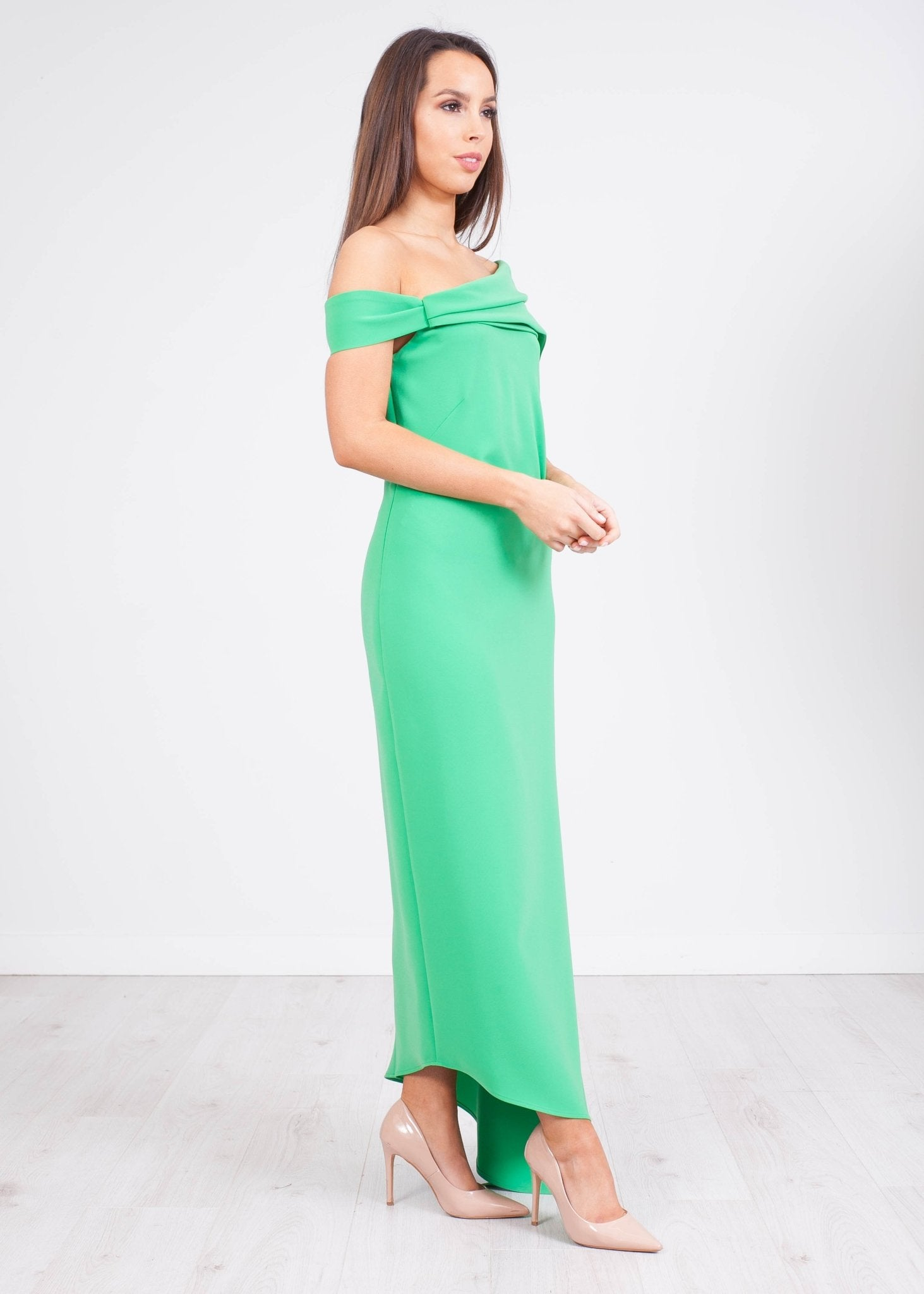 Carla Green Bianca Dress - The Walk in Wardrobe