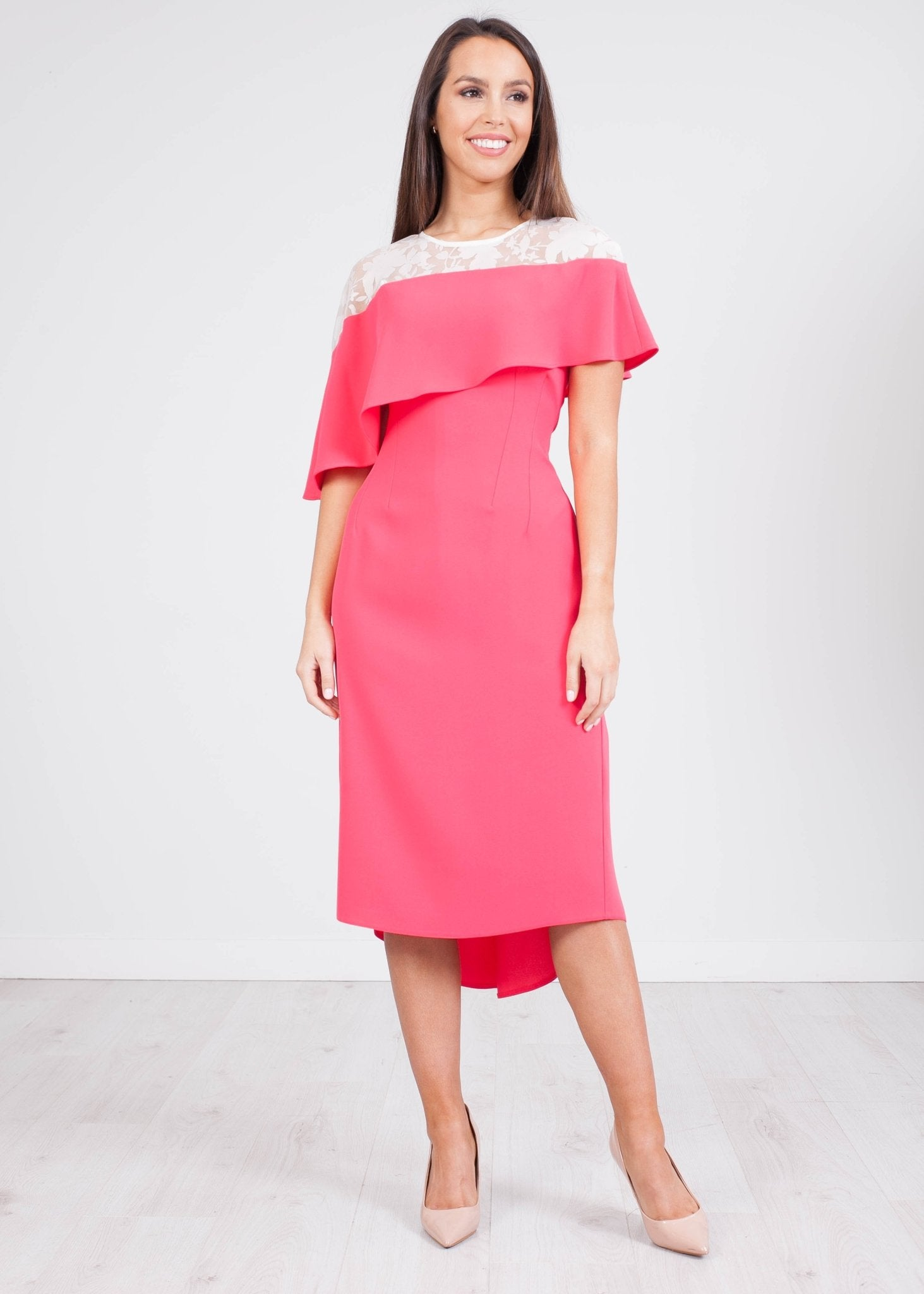 Carla Pink Ivanna Dress - The Walk in Wardrobe