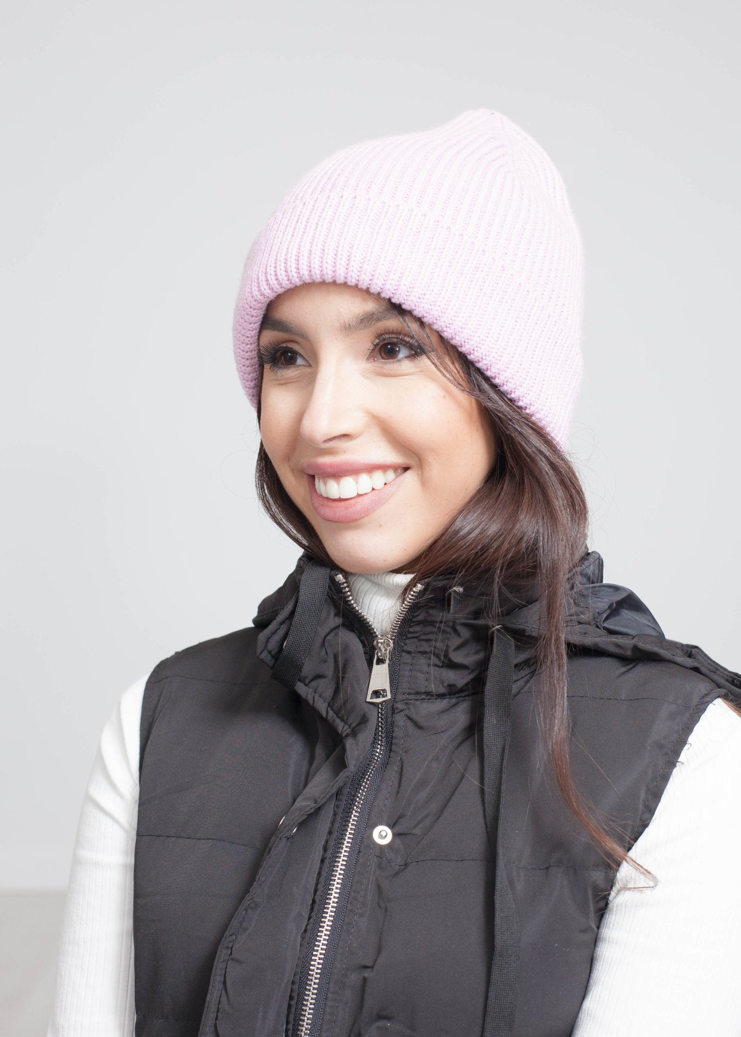 Carly Knit Hat In Pink - The Walk in Wardrobe