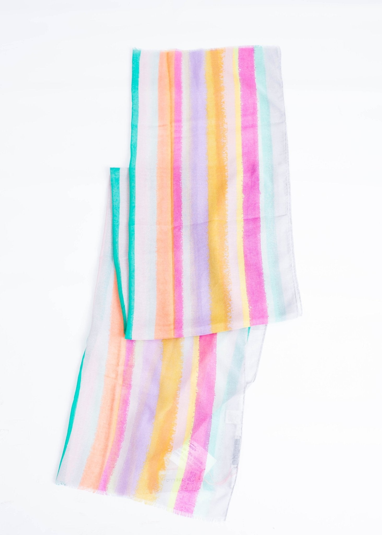 Carly Multicoloured Scarf - The Walk in Wardrobe