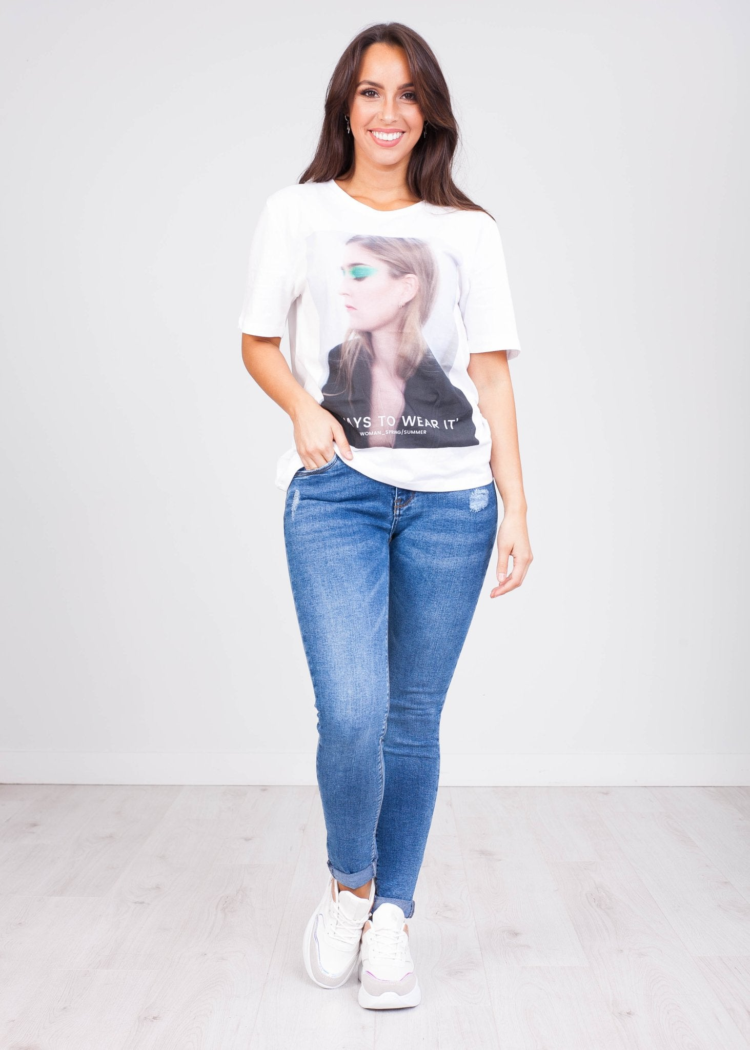 Charlee Lady T-Shirt - The Walk in Wardrobe