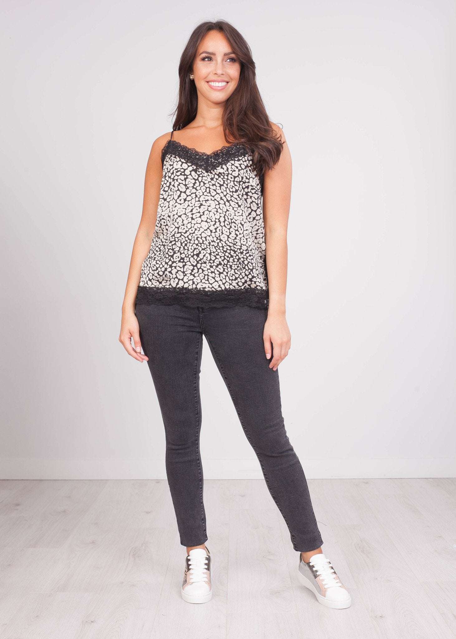 Cherie Animal Print Cami - The Walk in Wardrobe