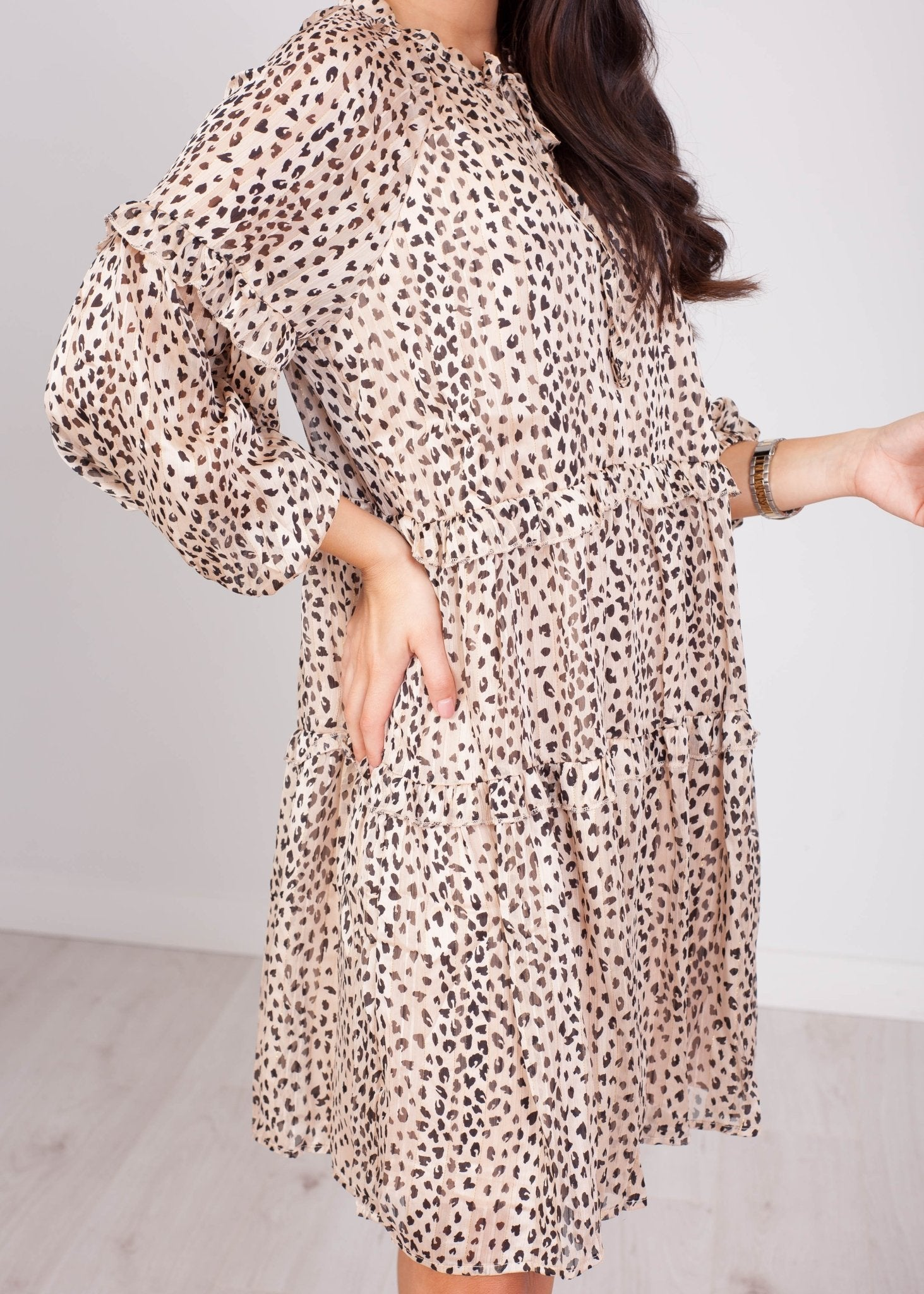 Cherie Animal Print Mini Dress - The Walk in Wardrobe