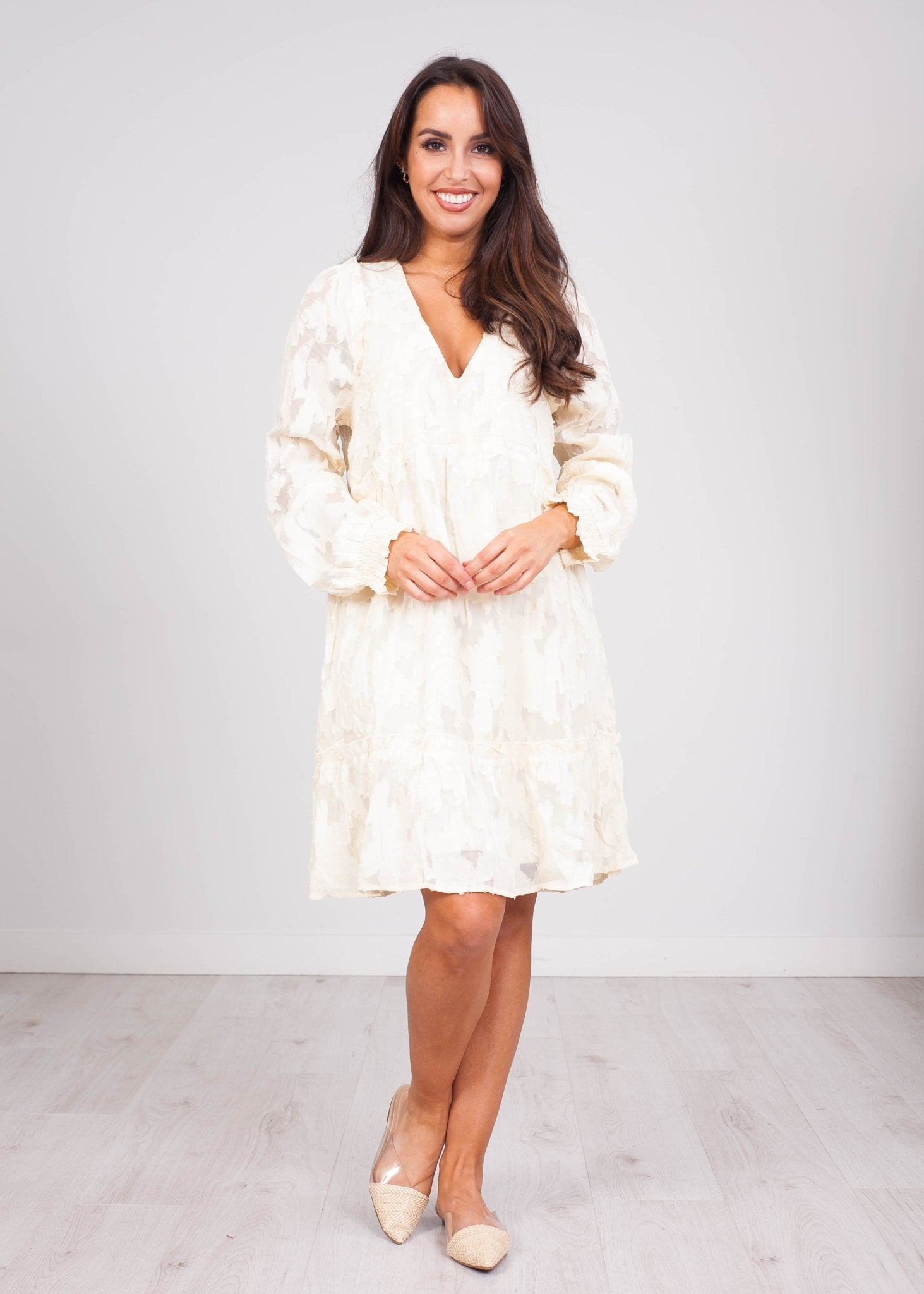 Cherie Cream Lace Dress - The Walk in Wardrobe