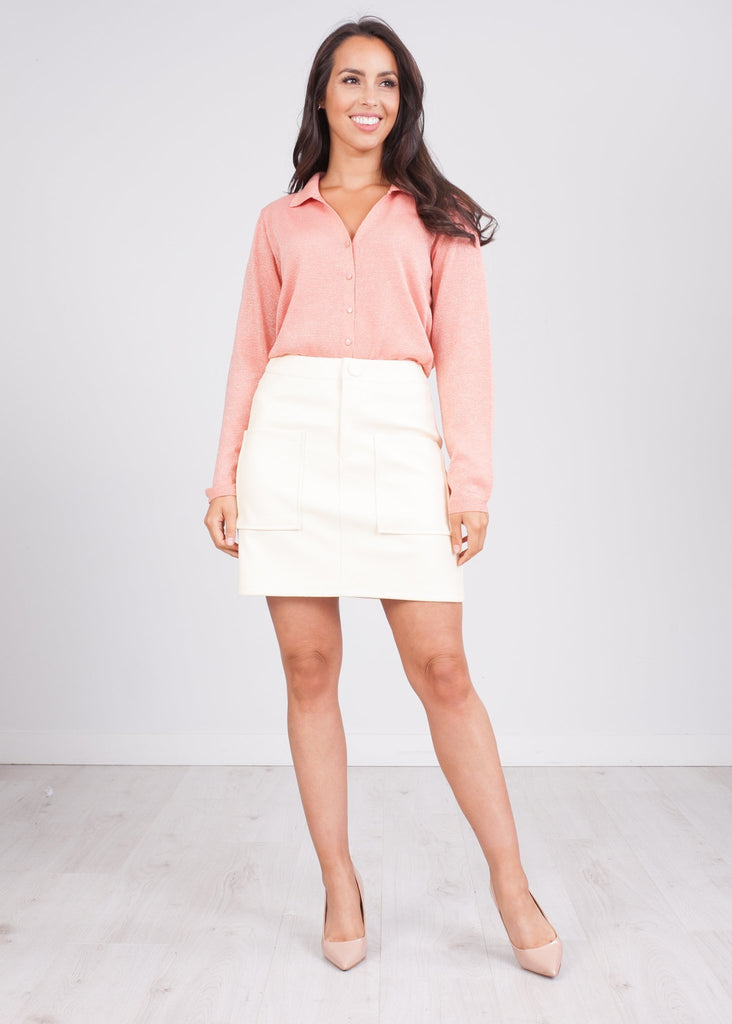 Cherie Cream Skirt - The Walk in Wardrobe