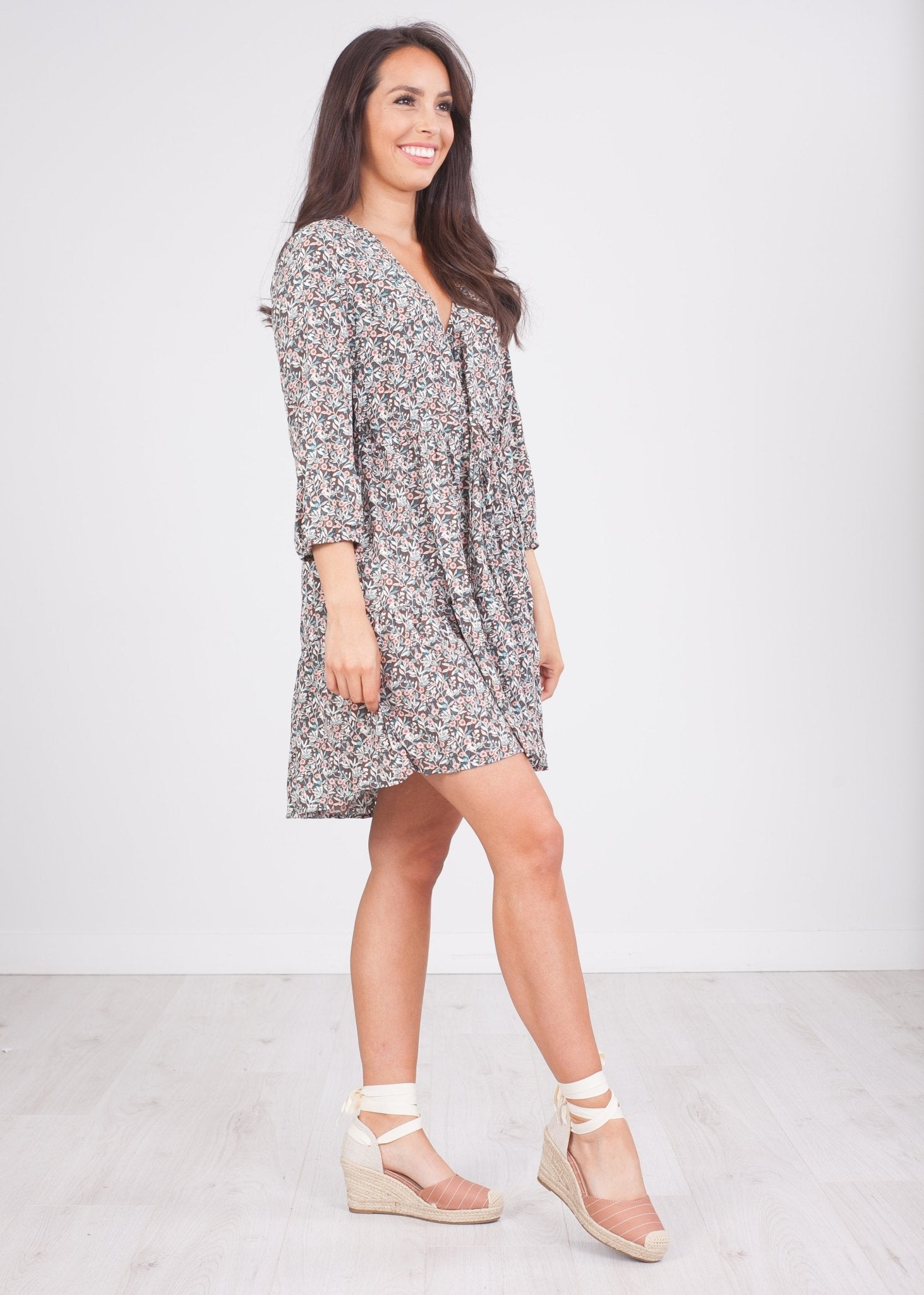 Cherie Multiprint Dress - The Walk in Wardrobe