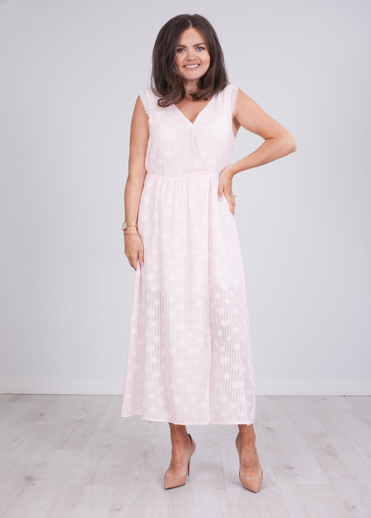 Cherie Pink Dress - The Walk in Wardrobe
