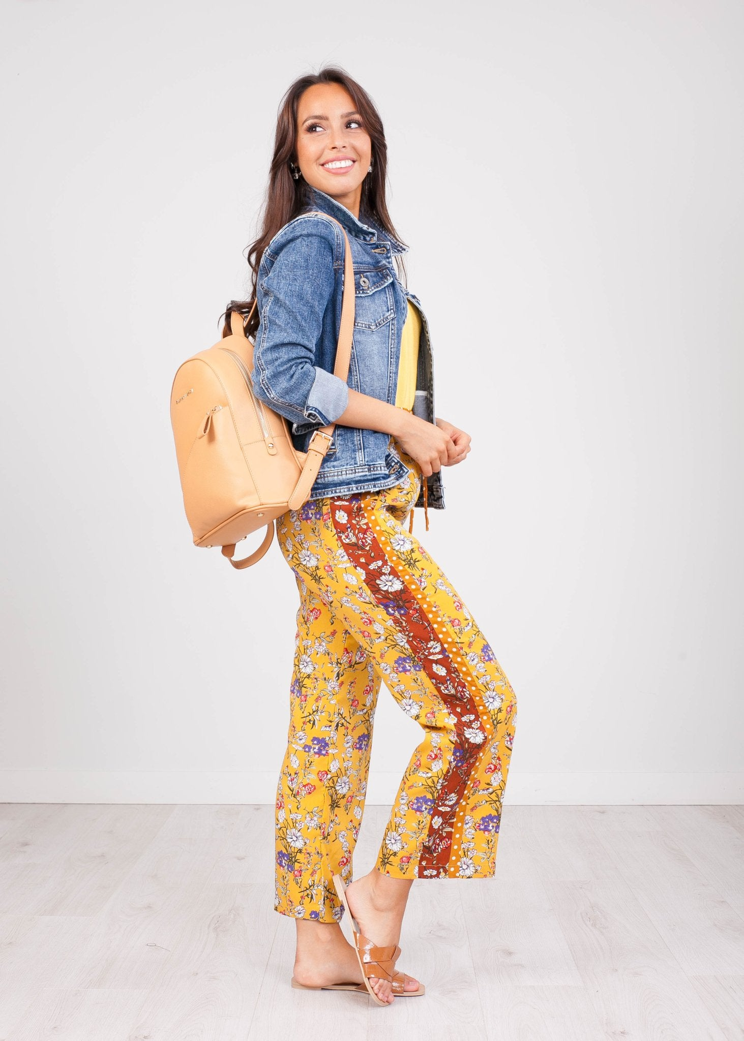 Cherie Printed Trousers - The Walk in Wardrobe