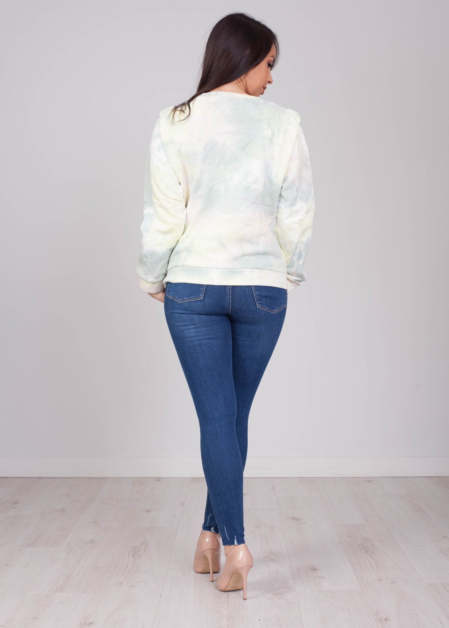 Daisy Green Tie Dye Jumper - The Walk in Wardrobe