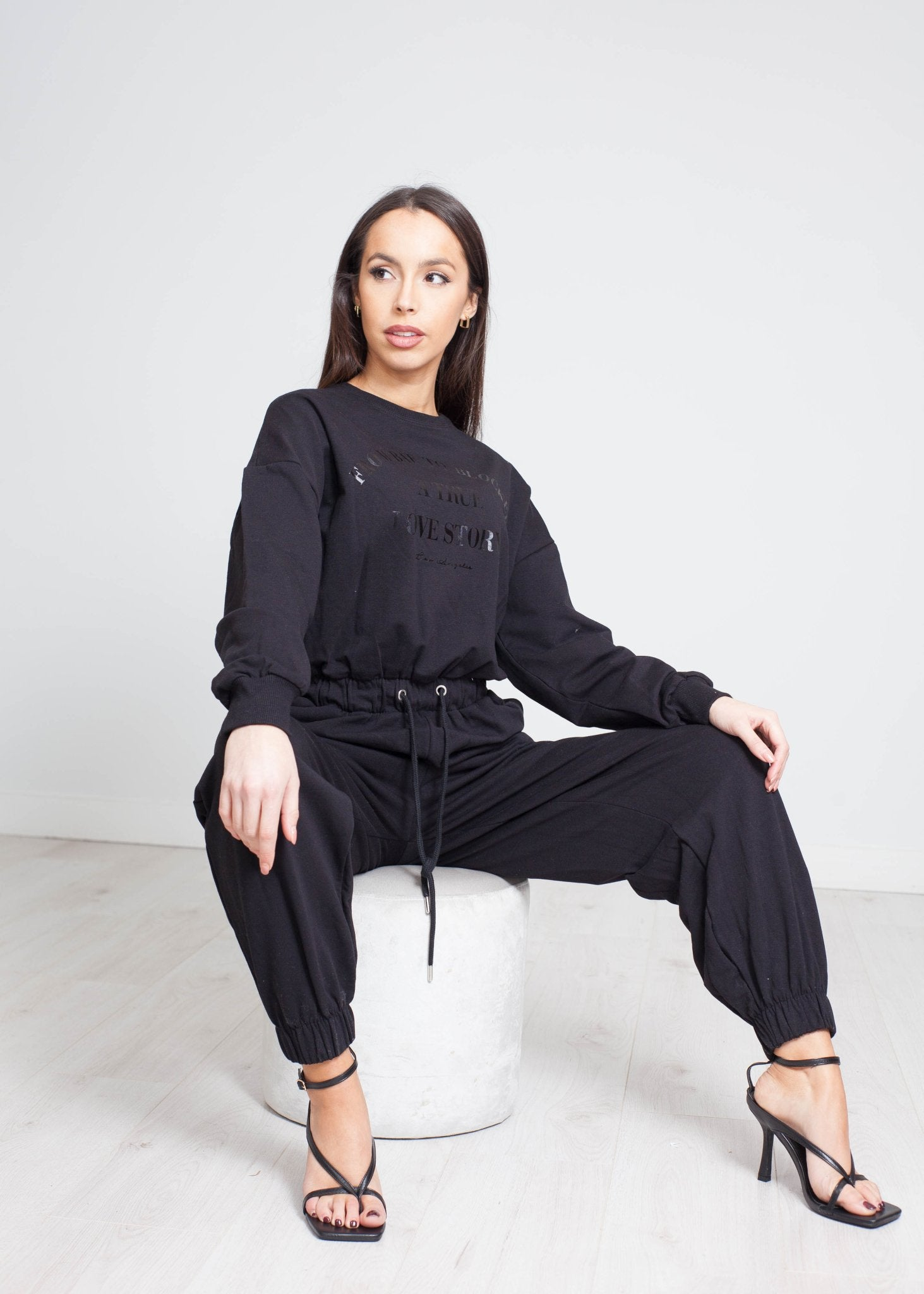Danni Jumpsuit In Black - The Walk in Wardrobe