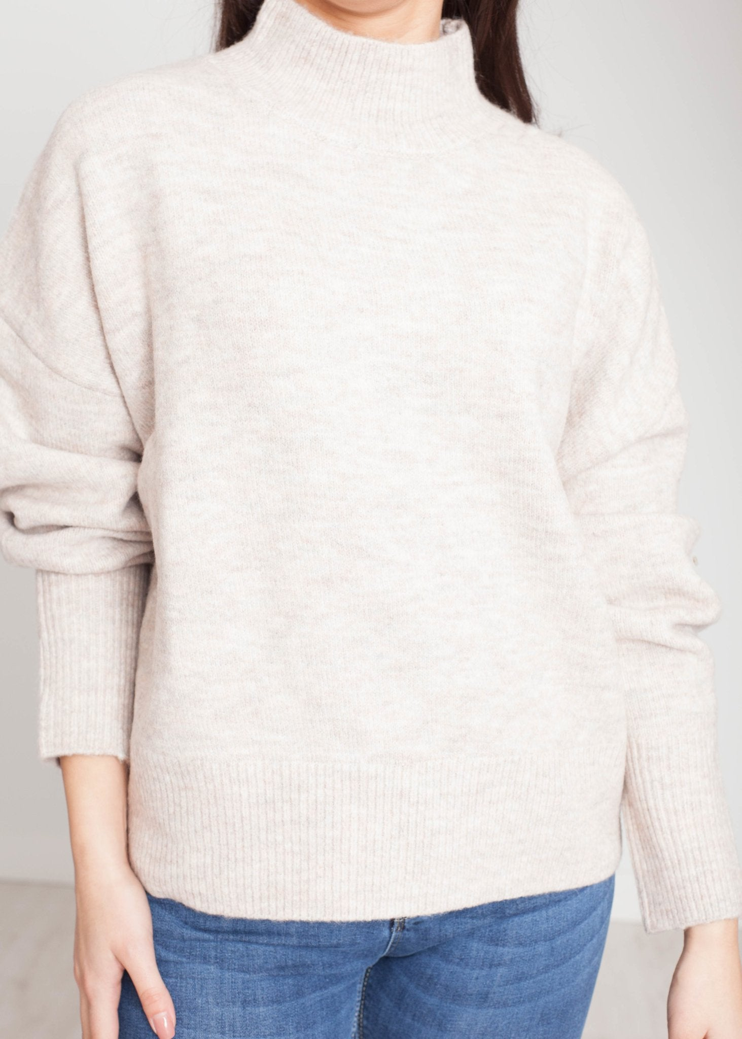 Elsa Knit Jumper In Pink Mix - The Walk in Wardrobe